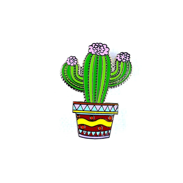 ENAMEL PIN CACTUS, ACCESSORIES, Styles For Home Garden & Living, Styles For Home Garden and Living