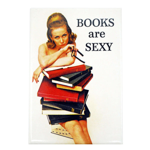 BOOKS ARE SEXY MAGNET, NOVELTY, Styles For Home Garden & Living, Styles For Home Garden and Living