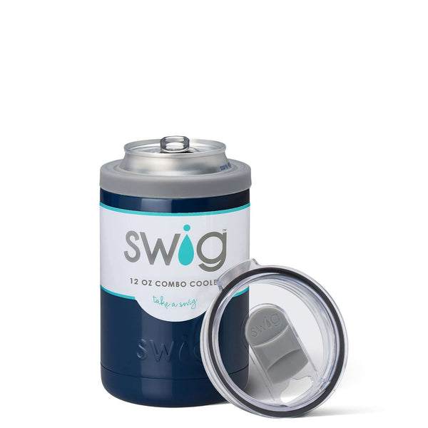 SWIG 12OZ COMBO COOLER NAVY, KITCHEN, Styles For Home Garden & Living, Styles For Home Garden and Living