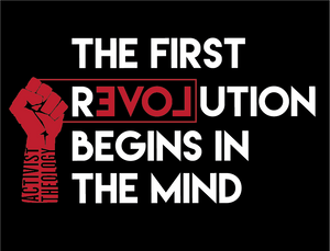 The First Revolution Begins in the Mind Racerback Tank - FIST