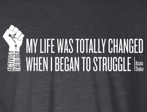 My Life Was Totally Changed When I Began to Struggle Hoodie