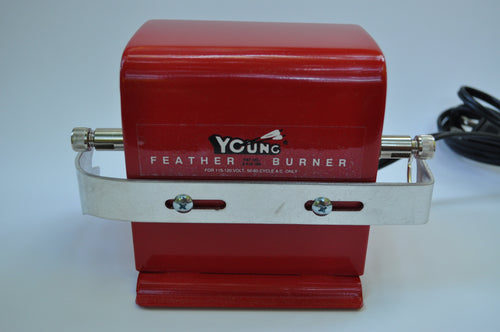 Young Feather Trimmer / Burner