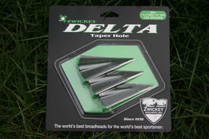 "Zwickey Delta Glue On Broadheads 11/32"", 135 grains, 3 pack"
