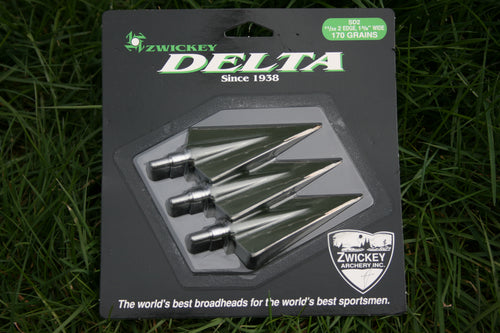 Zwickey Delta Screw In Broadheads 11/32