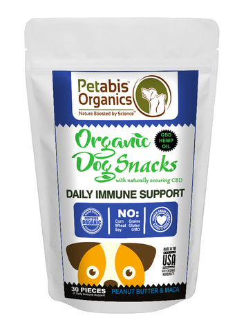 Petabis - Immune Support Hemp Dog Treats