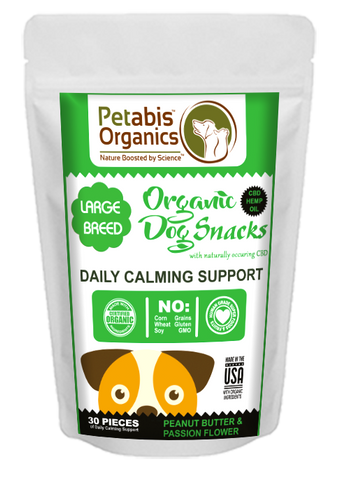 Petabis - LARGE BREED Calming Dog Treats
