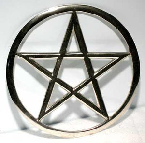 Cut-out Pentagram Altar Tile 5 3-4""