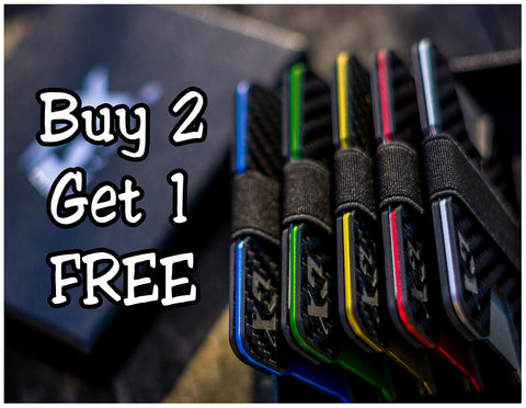 Carbon Fiber CX Wallet Buy 2 Get 1 FREE