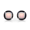 Mismatched MINI GEO MOONSTONE EARRING
