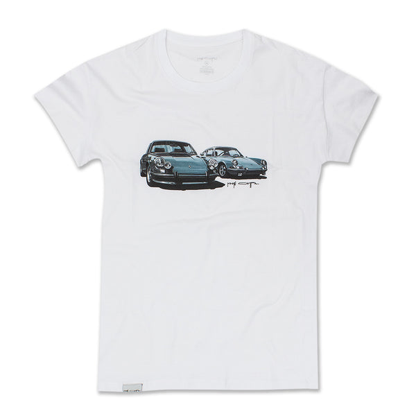911 COUPLE T-SHIRT WHITE