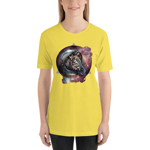 Space Zebra  - Round Neck T-Shirt - TheSixtyNine