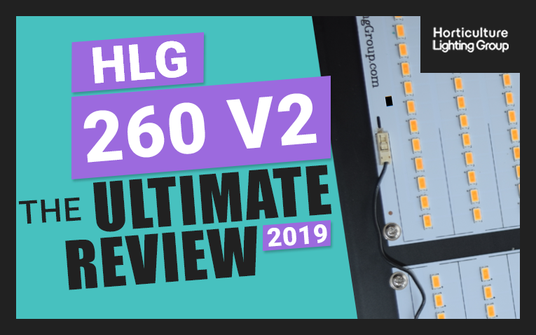 The Ultimate Horticulture Lighting Group 260 Watt QB V2 Quantum Board DIY Kit Review