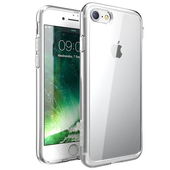 iPhone 7 Plus Case, Scratch Resistant, i-Blason Clear, Halo Series for Apple iPhone 7 Plus Cover 2016 Release-Clear