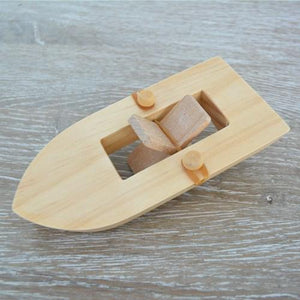 Rubberband Powered Paddle Boat