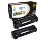 Catch Supplies Replacement Canon 9435B001AA Standard Yield Laser Printer Toner Cartridges - Two Pack