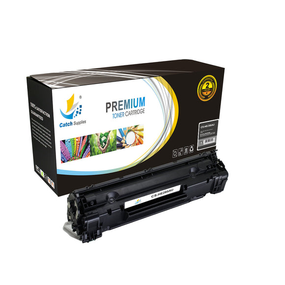 Catch Supplies Replacement HP CE285A Standard Yield Toner Cartridge