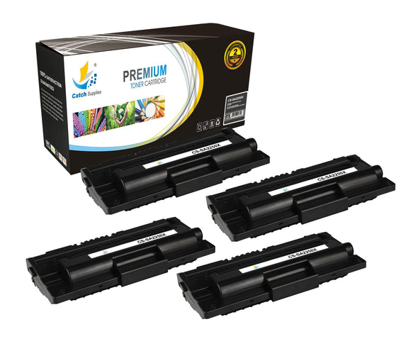 Catch Supplies Replacement Samsung ML-2250D5 High Yield Black Toner Cartridge Laser Printer Toner Cartridges - Four Pack