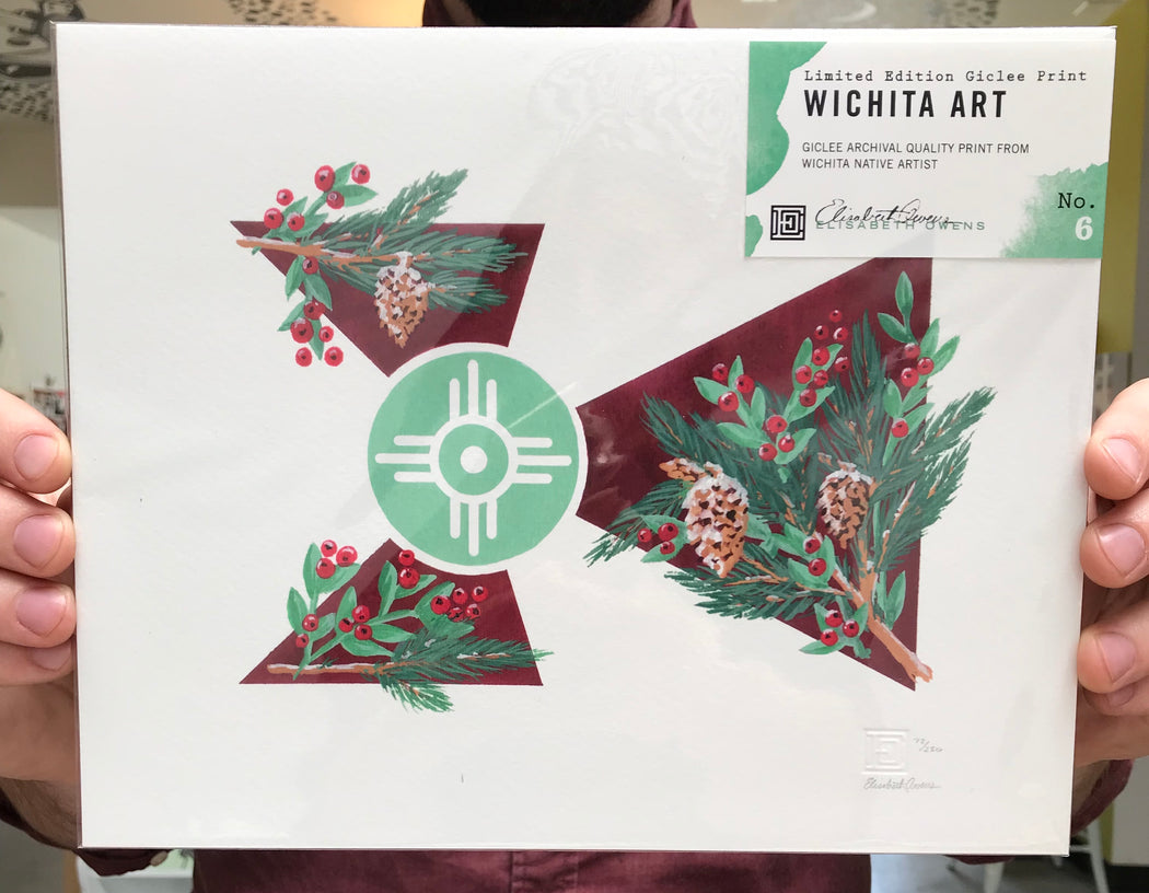 Wichita Flag Print #6