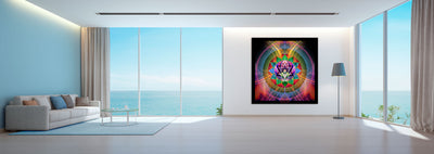 Ray of Love| Heart Chakra Tapestry | Wall Hanging | Mindfulness Gift | Meditation | Yoga | Spiritual | Healing
