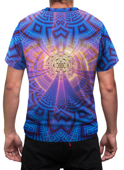 ZeroPoint| Mens T-Shirt | Clothing | Spiritual | Aesthetic | Yoga | Festival | Meditation | Sacred Geometry | Cosmic