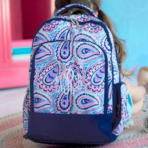 Monogrammed Sophie Backpack ~ girls backpack - Blush & Company Designs
