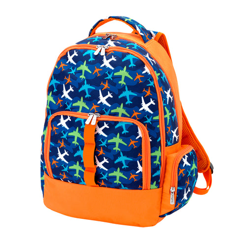 Take Flight Monogrammed Backpack ~ Boys backpack - Blush & Company Designs