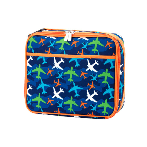 Take Flight Lunch Box ~ Monogrammed Boys lunch box - Blush & Company Designs