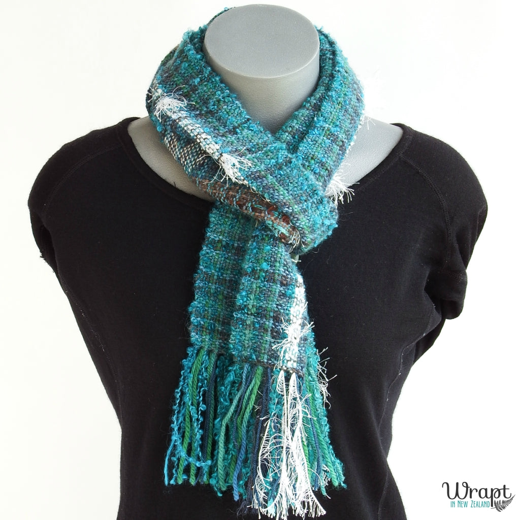 Tui Scarf crafted by Wrapt in New Zealand