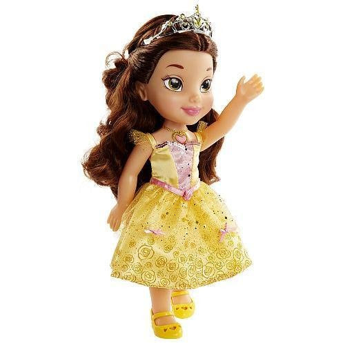 Disney Princess Sing and Shimmer Toddler Doll - Belle