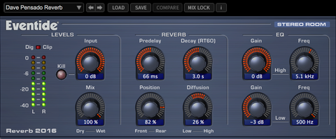 2016 Strero room Reverb plug In