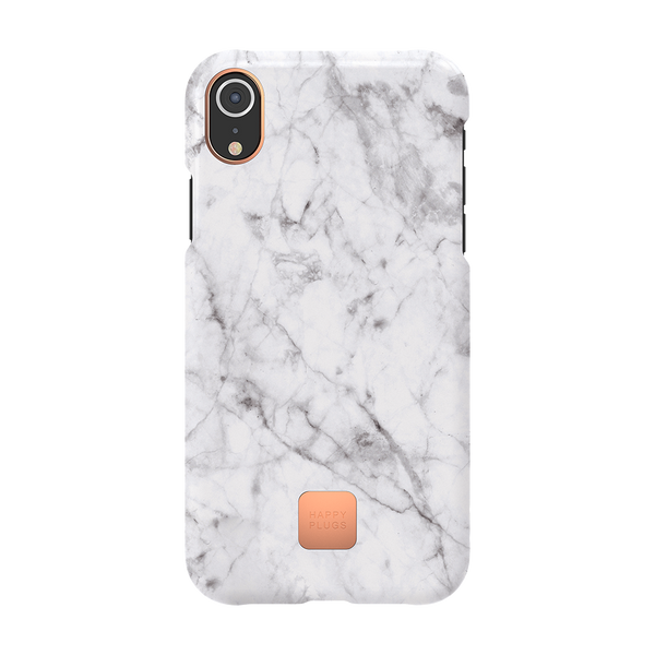 iPhone XR Case White Marble