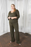 Jumpin Jumpin Wide Leg Jumpsuit