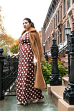 Sign On The Dotted Line Maxi Dress