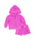 Girls Paradise Pink Pineapple Fleece Zip Hoodie Set 2 Alternate View