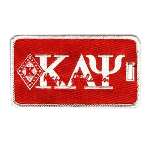 Kappa Alpha Psi Diamond K Luggage Tag