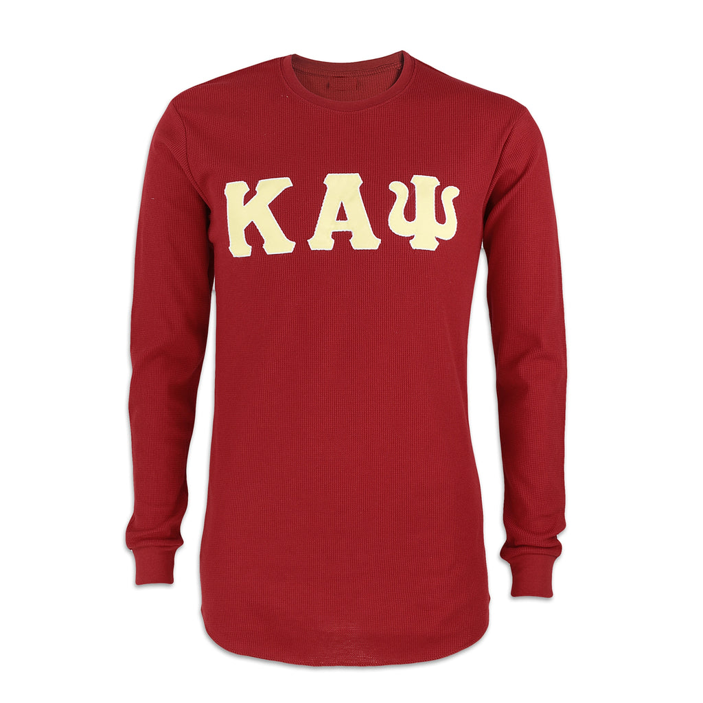 Kappa Alpha Psi Long Sleeve Thermal Shirt (Krimson)