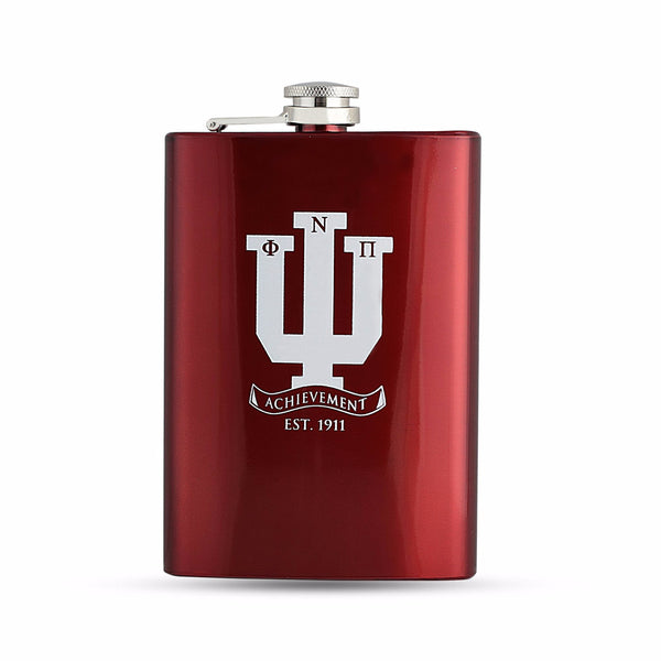Kappa Alpha Psi Stainless Steel Flask