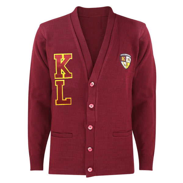 Kappa League Cardigan Sweater (Maroon)