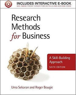Test Bank for Research Methods for Business: A Skill-Building Approach 6th Edition