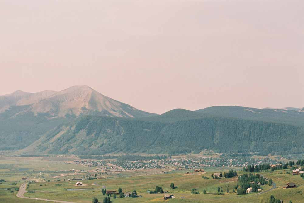 View from Mt. Crested Butte