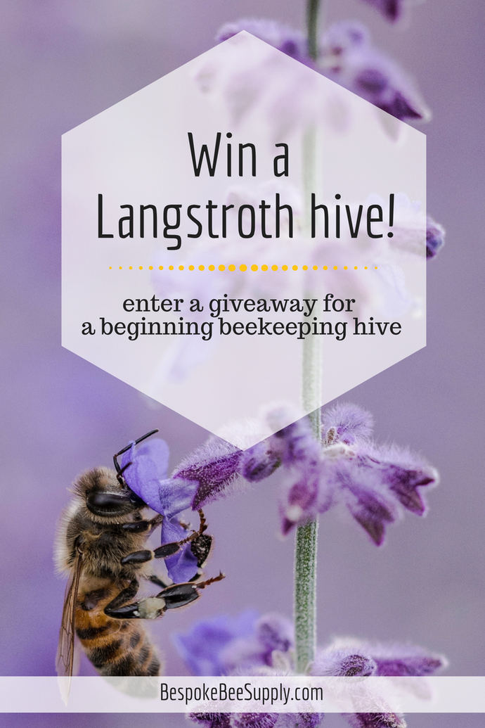 Win a handmade Langstroth hive!
