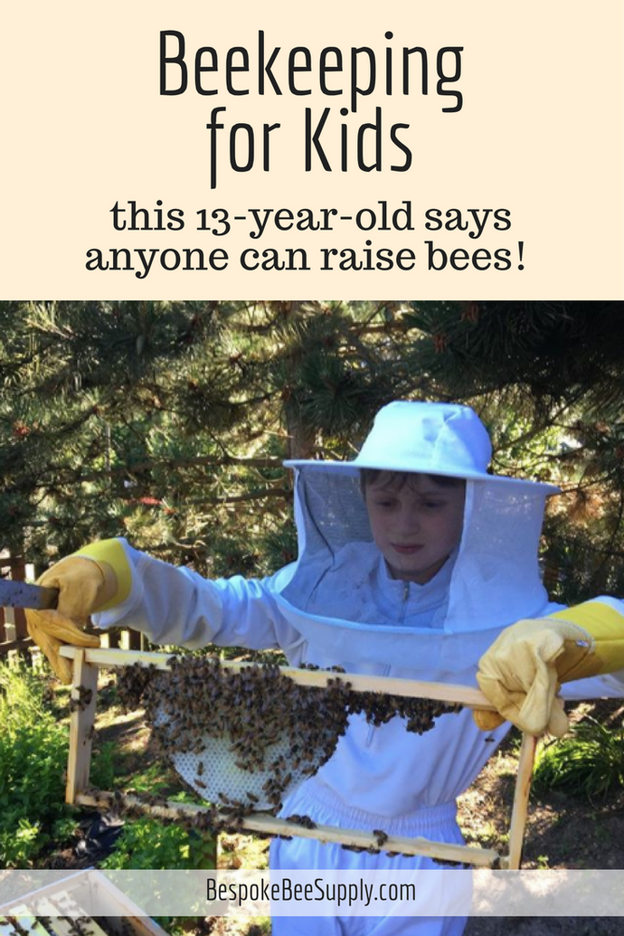 Beekeeping for kids: Anyone, even children, can raise bees and help the environment in your garden!