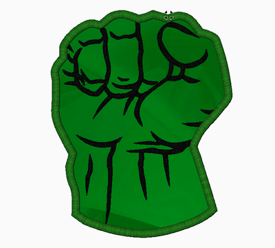 Incredible HULK Embroidery Applique Designs - IC1derful Designs