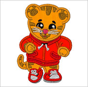 PBS Kids Daniel Tiger Embroidery Applique Designs - IC1derful Designs