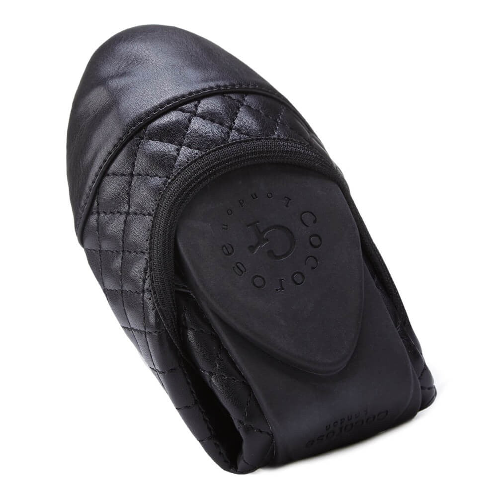 Cocorose London - Greenwich Quilted Black
