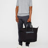 Saarf Travel And Cycle Tote in Black