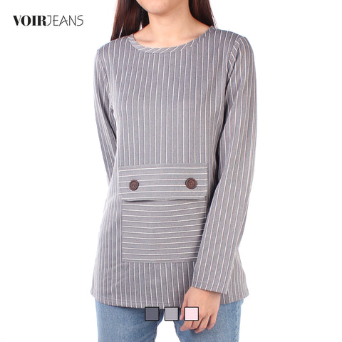VOIR Ladies Long sleeve Blouse VJ103469-A091904