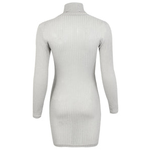 Casual Long Sleeve Turtleneck Jumper