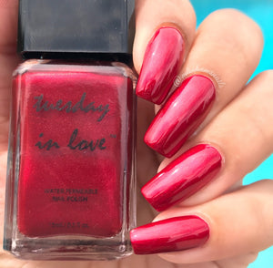 3 Color Gift Set - Red - Tuesday in Love Halal Nail Polish & Cosmetics