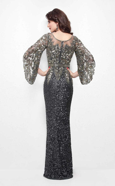 Primavera Couture 1424 Charcoal/Gold